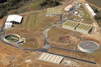 Guarapuava - Estação de Tratamento de Esgoto