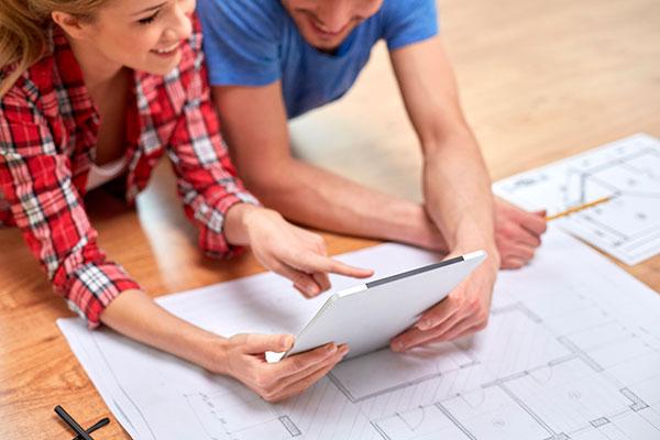 Como funciona a personalização de plantas de apartamentos?
