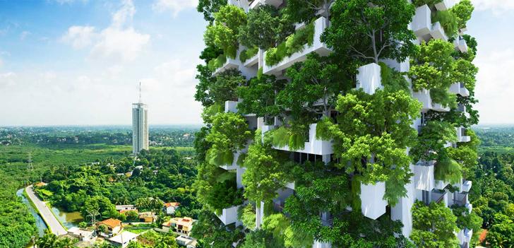 Sri Lanka constrói maior edifício-jardim do mundo