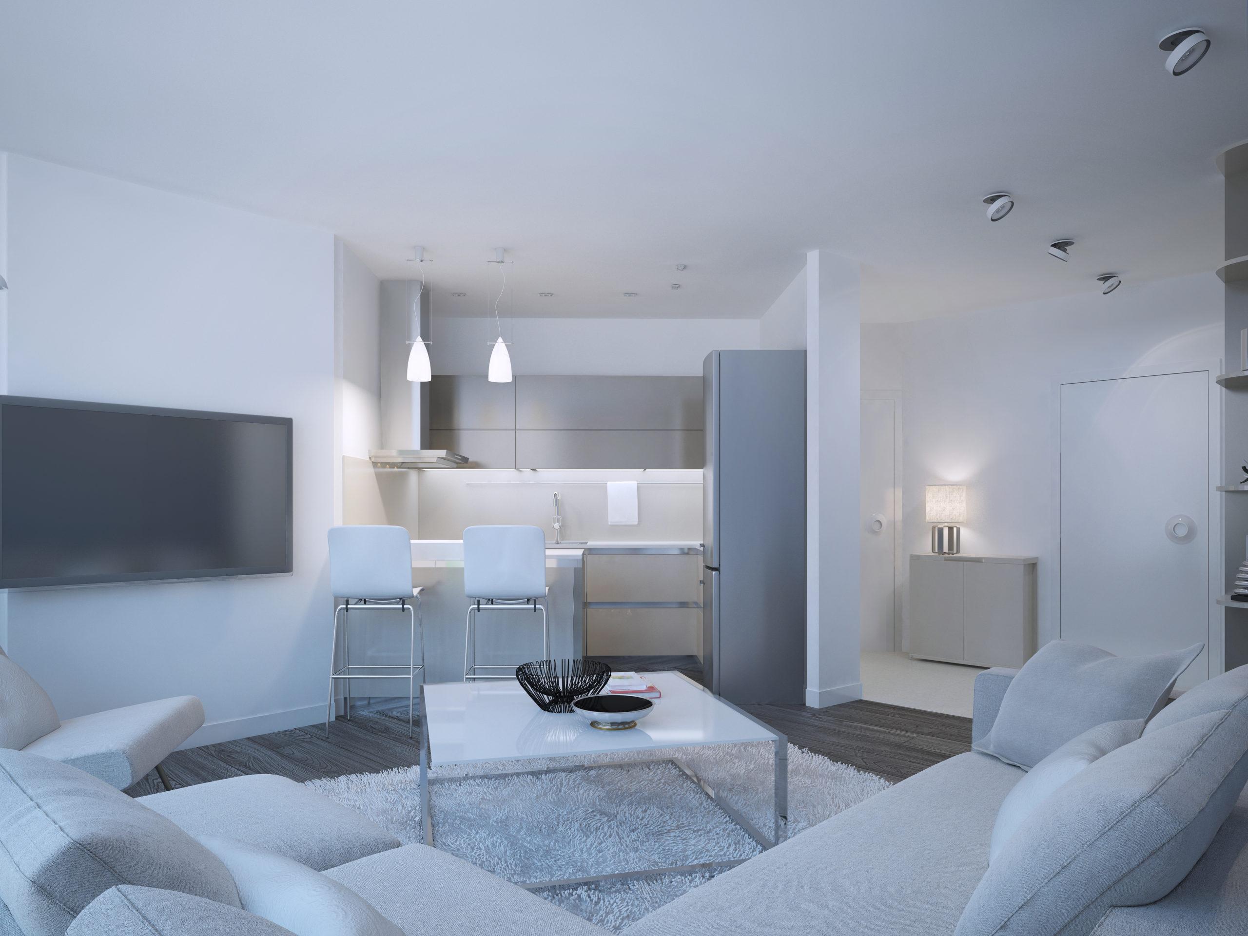 Apartamento studio é uma opção de praticidade